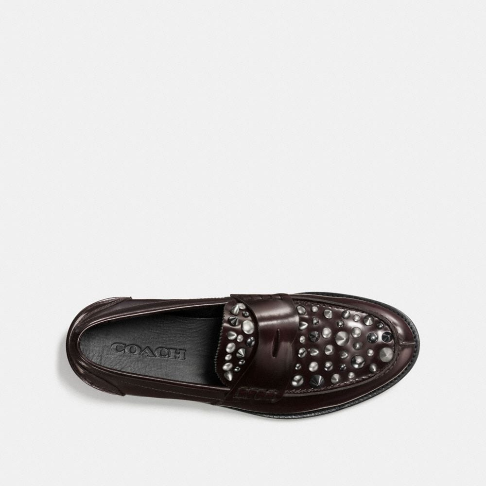 Coach Plug Loafer With Rivets Alternate View 2