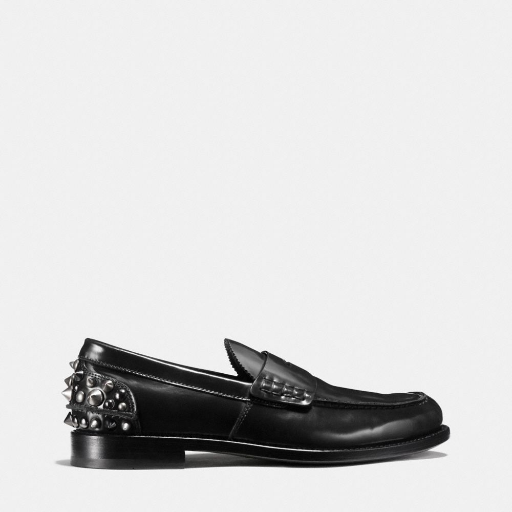 Coach Studded Loafer Alternate View 1