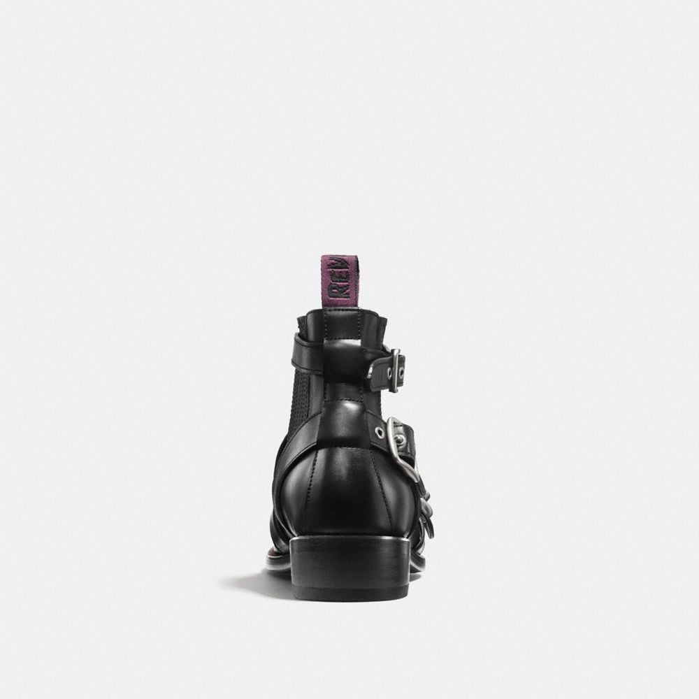 Coach Strapped Chelsea Biker Boot Alternate View 2