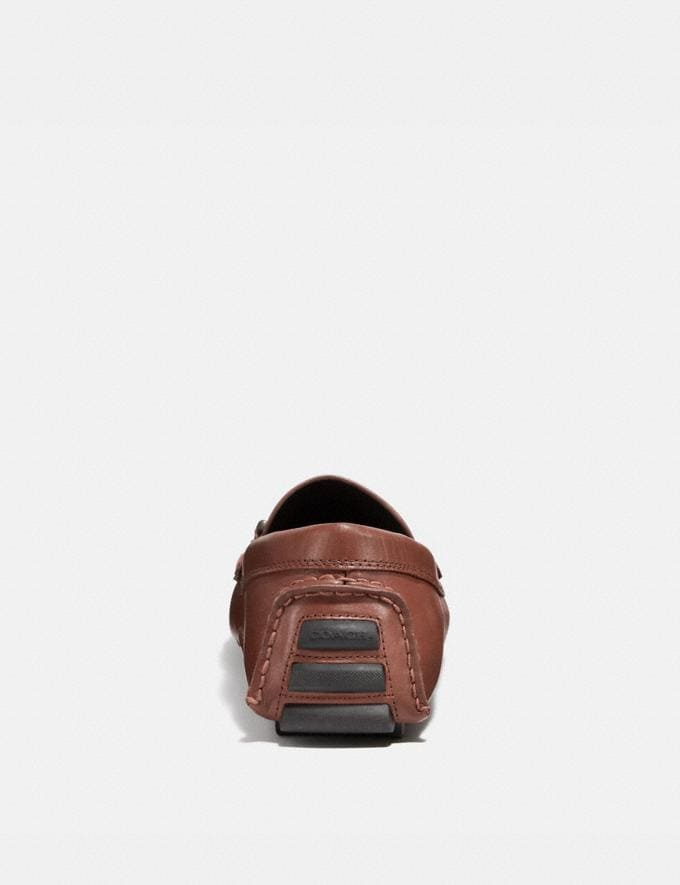 Coach Crosby Turnlock Driver Mahogany Men Shoes Casual Alternate View 3
