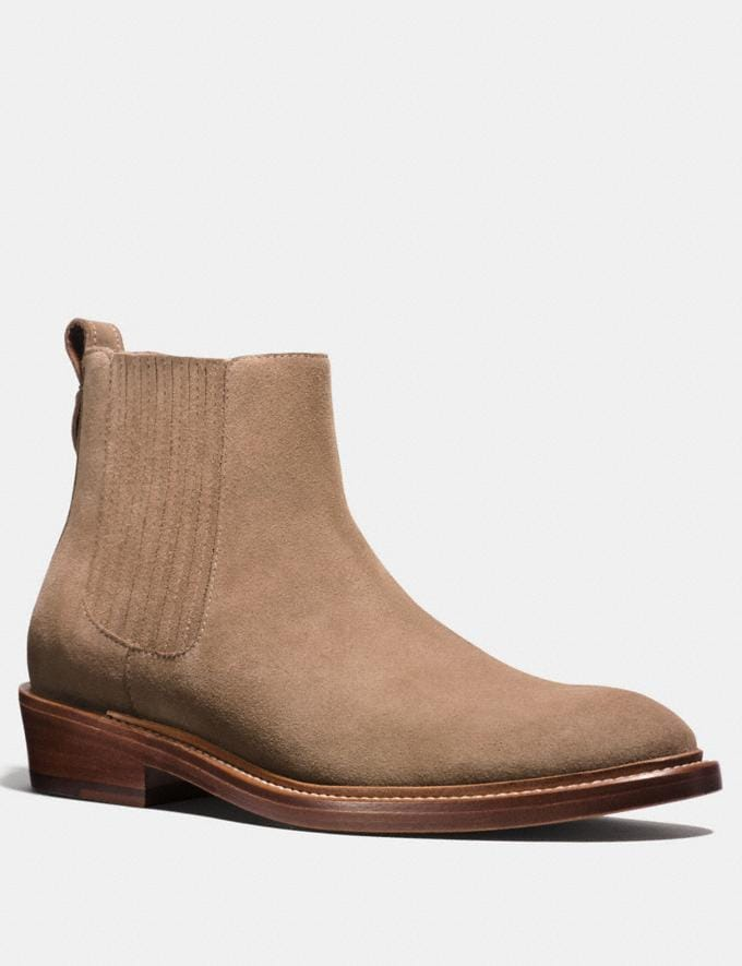 Coach Chelsea Boot Sand Men Shoes Boots