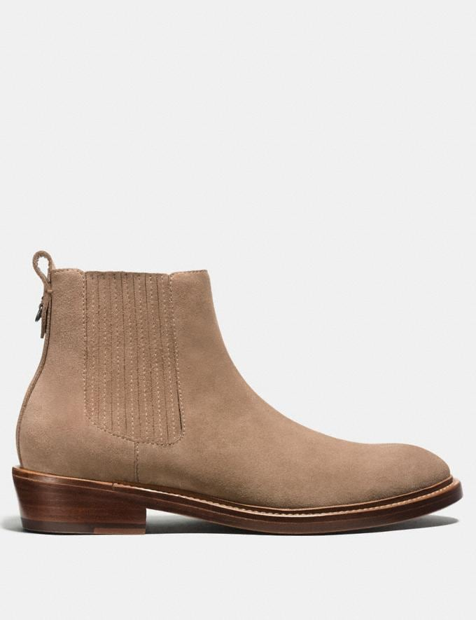 Coach Chelsea Boot Sand Men Shoes Boots Alternate View 1