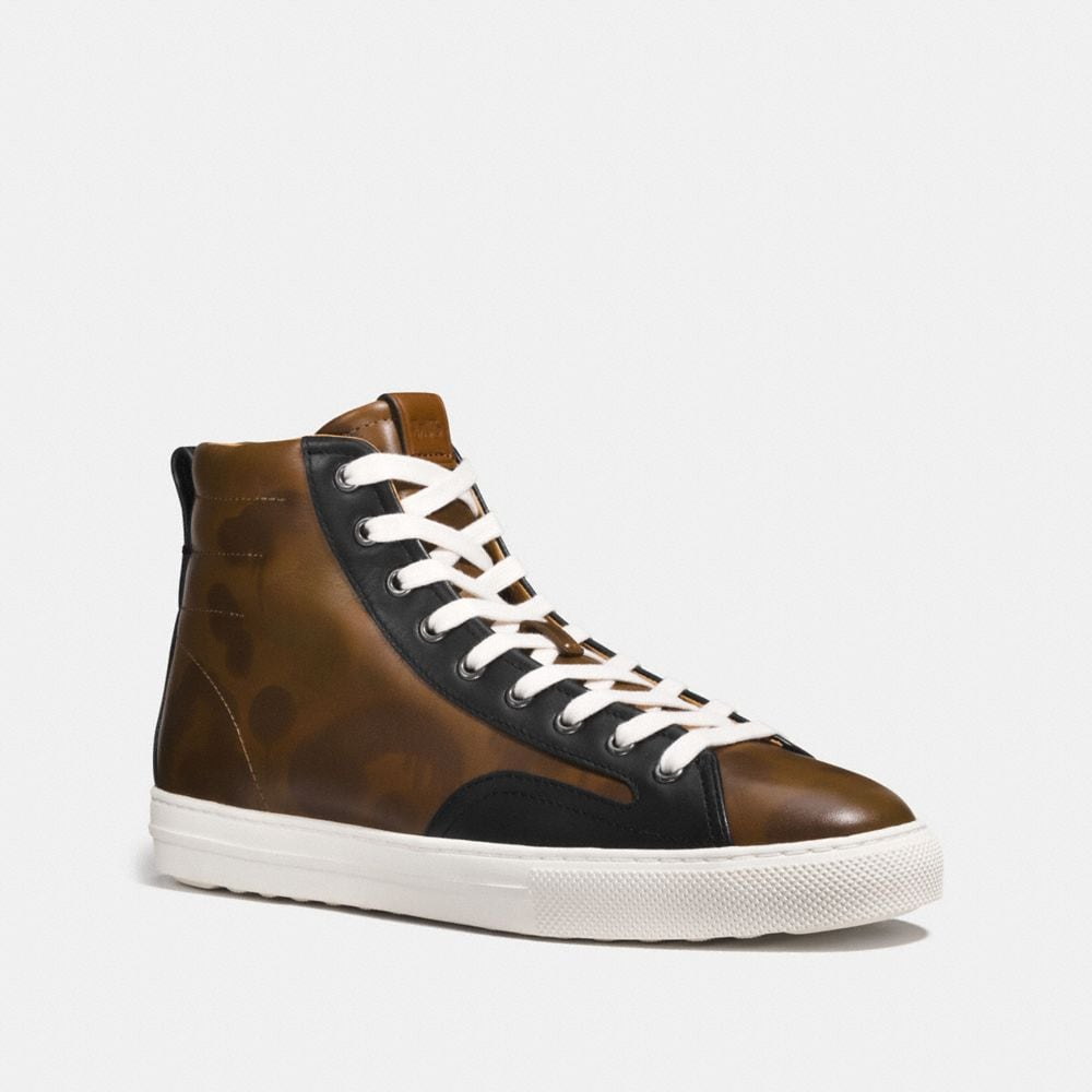 Coach C227 High Top With Wild Beast