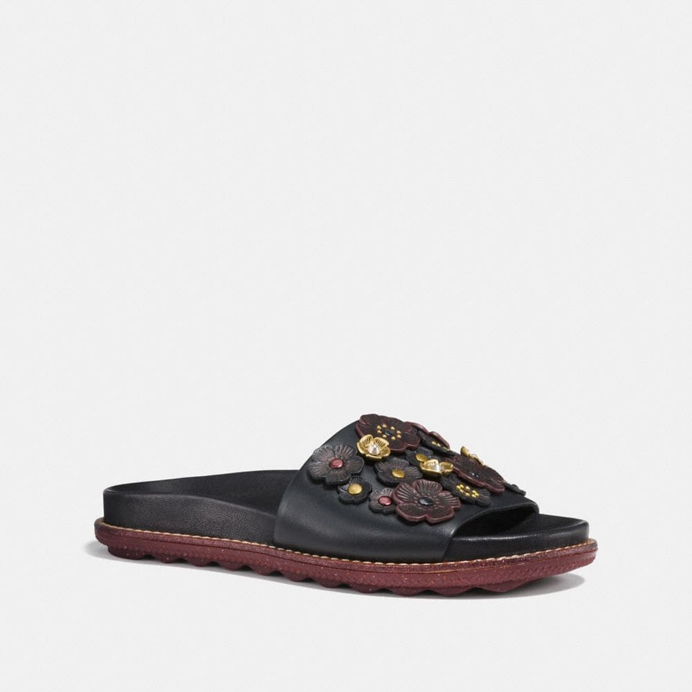 Coach Sport Slide With Tea Rose