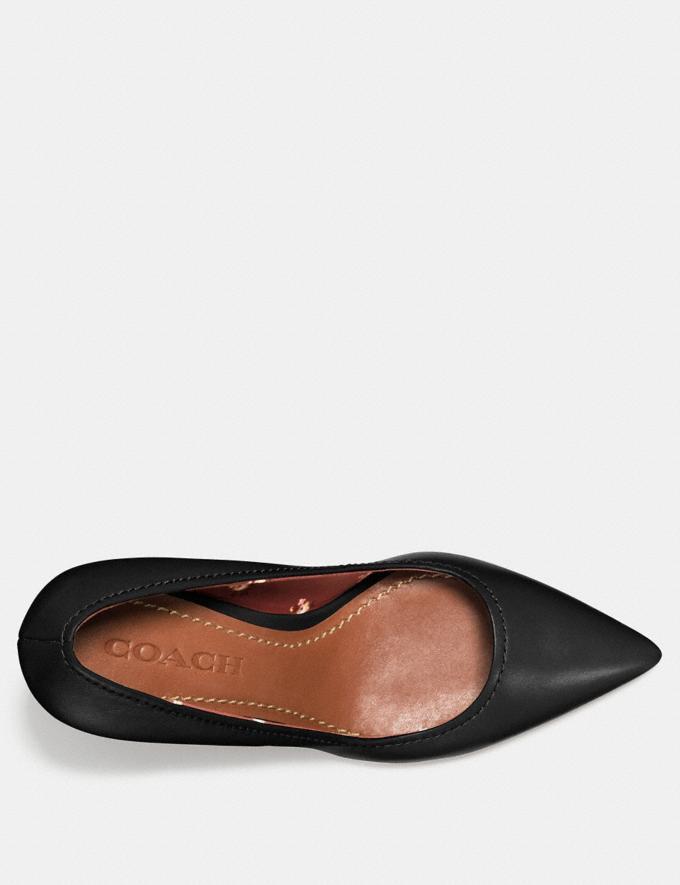 Coach Waverly Pump Black SALE Women's Sale Shoes Alternate View 2
