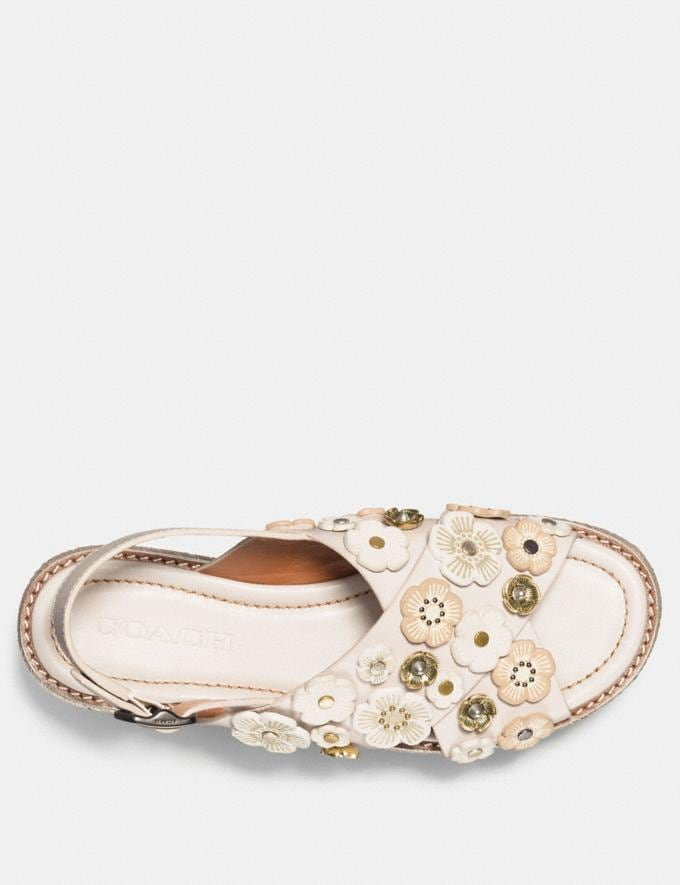Coach Espadrille Sandal With Tea Rose Chalk  Alternate View 2