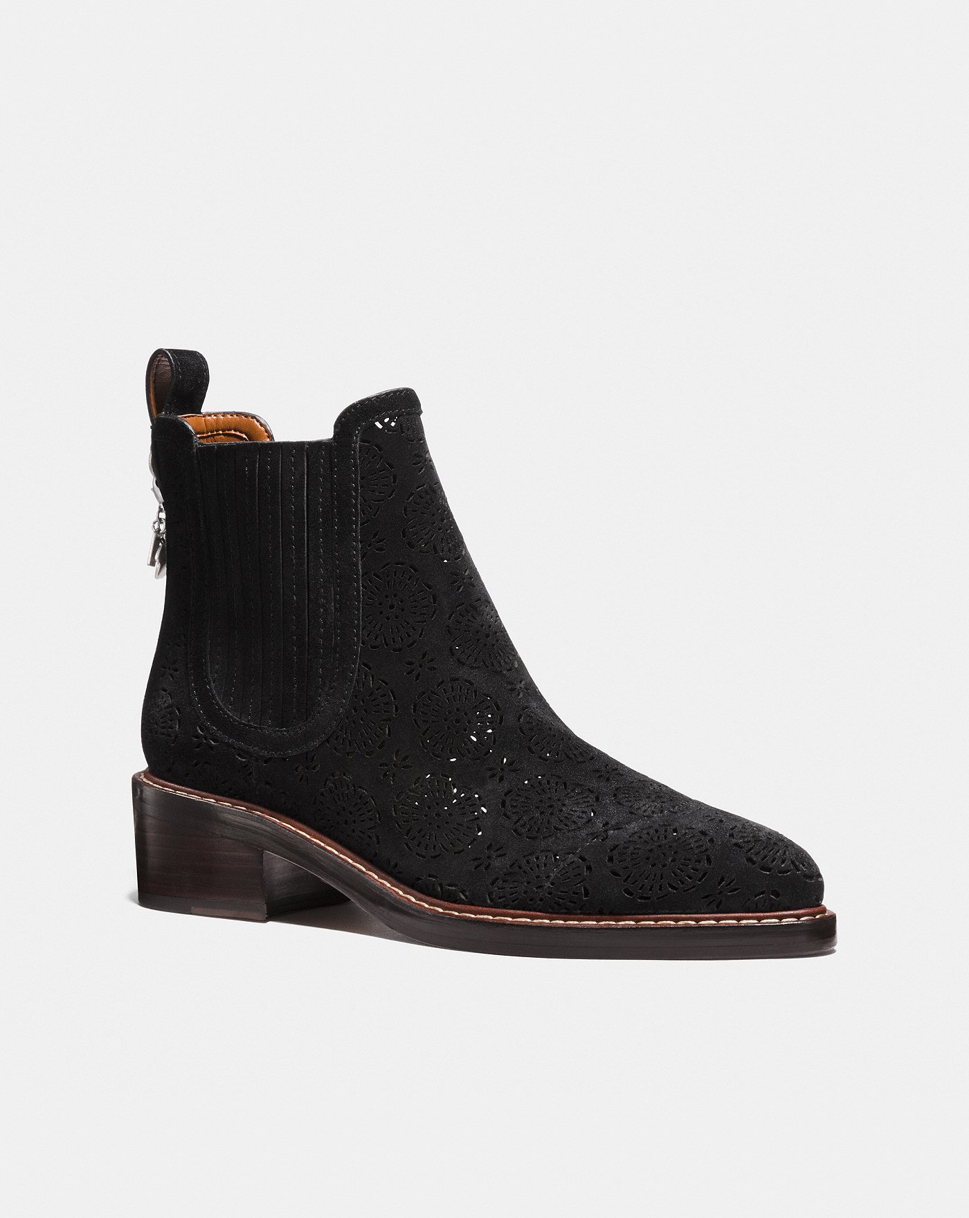 ce6faa4d49 Bowery Chelsea Boot With Cut Out Tea Rose