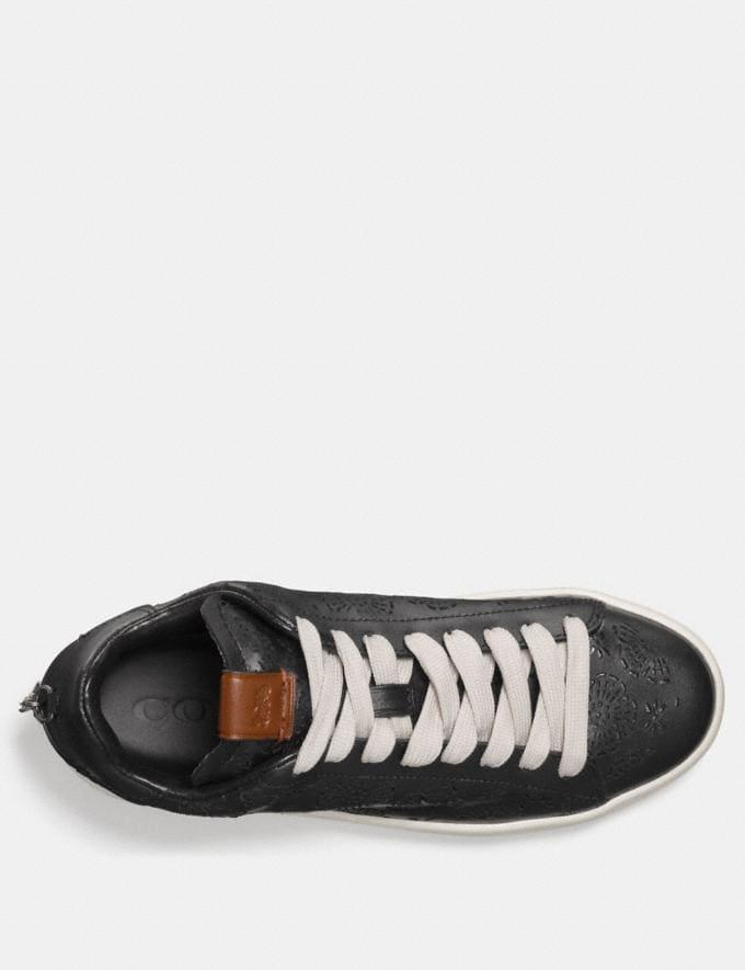 Coach C101 With Cut Out Tea Rose Black Friends & Family Sale Women's Shoes Alternate View 2