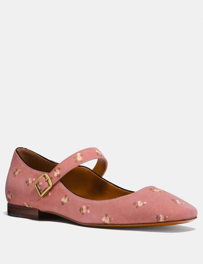 Coach Mary Jane With Prairie Print Melon CYBER MONDAY SALE Women's Sale Shoes