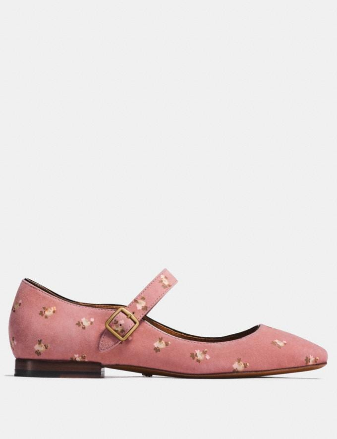 Coach Mary Jane With Prairie Print Melon CYBER MONDAY SALE Women's Sale Shoes Alternate View 1