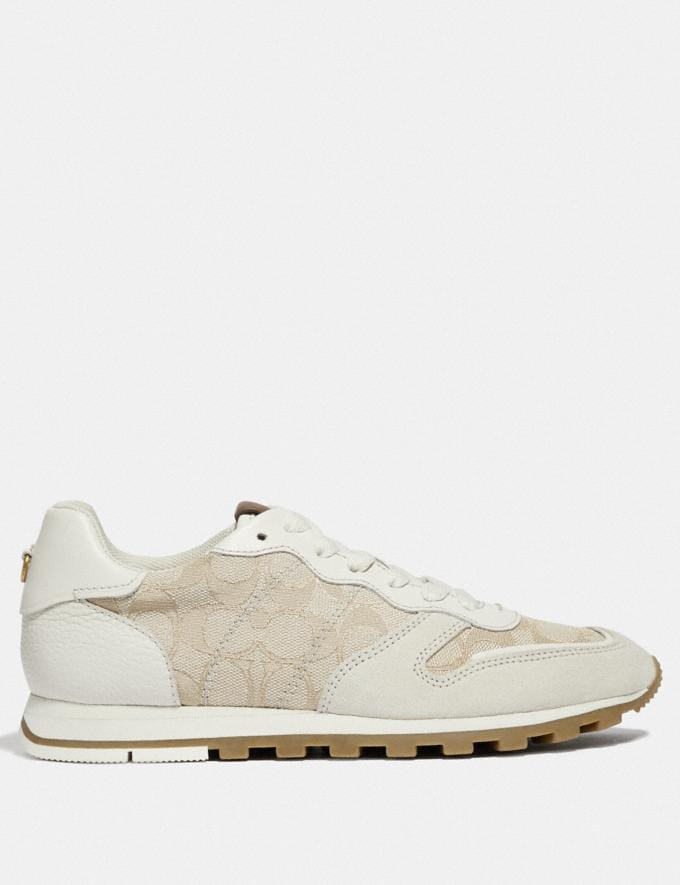 Coach C125 Runner Ivory/Chalk New Featured Online Exclusives Alternate View 1