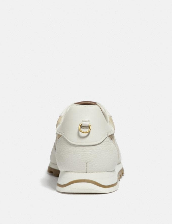 Coach C125 Runner Ivory/Chalk New Featured Online Exclusives Alternate View 3
