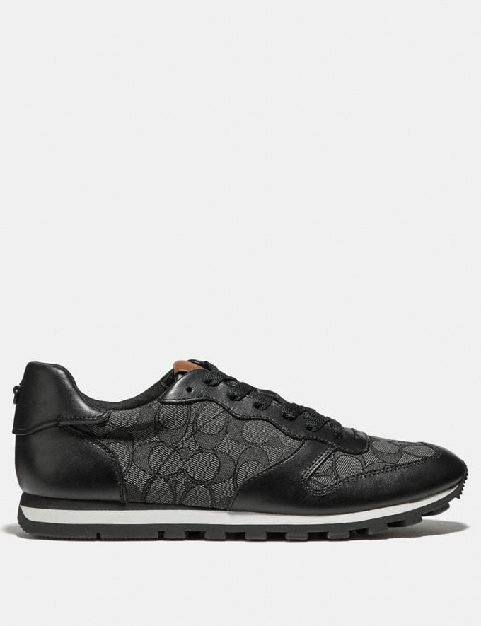 Coach C125 Runner Black Smoke/Black New Featured Online Exclusives Alternate View 1