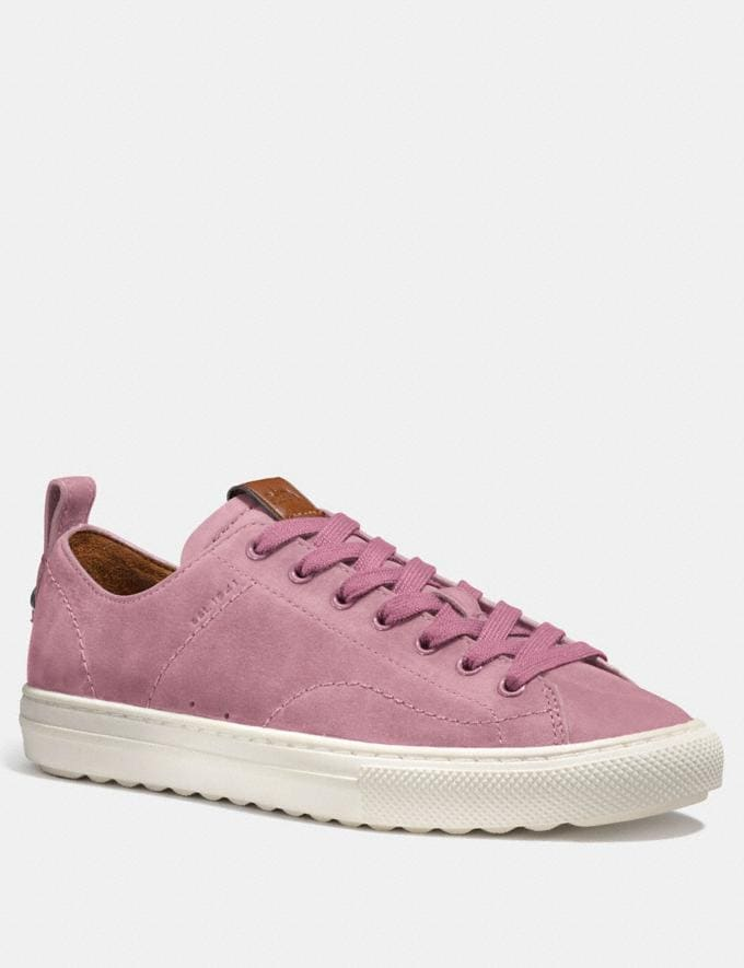 Coach C121 Low Top Sneaker Dusty Rose Women Shoes Sneakers