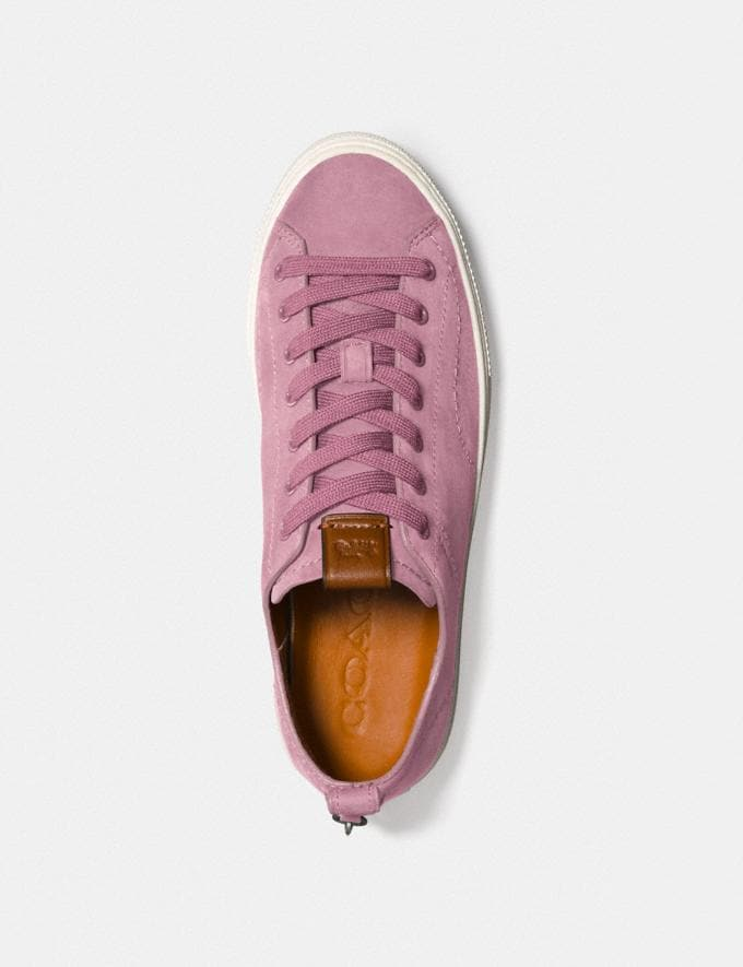 Coach C121 Low Top Sneaker Dusty Rose Women Shoes Sneakers Alternate View 1