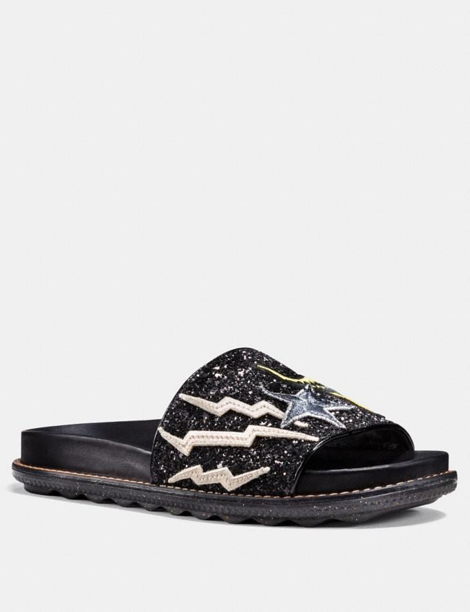 Coach Rexy Sport Slide Black SALE 30% off Select Full-Price Styles Women's