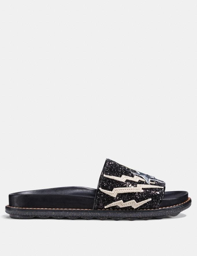 Coach Rexy Sport Slide Black  Alternate View 1
