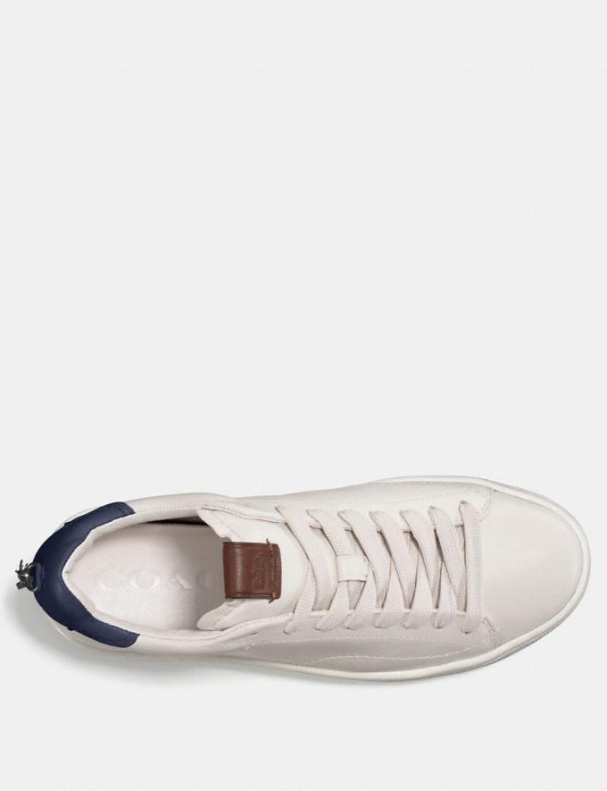 Coach C101 Low Top Sneaker White/Petal Women Shoes Sneakers Alternate View 1