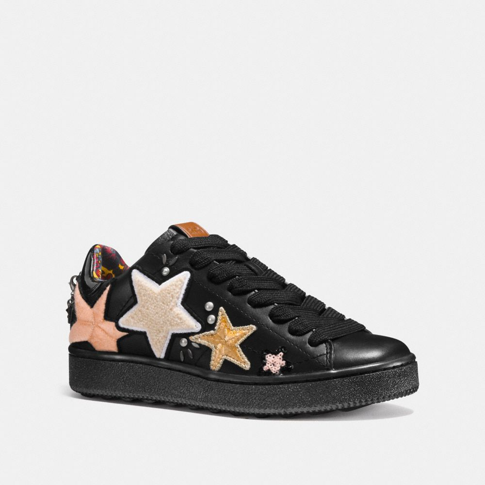 Coach C101 With Star Patches
