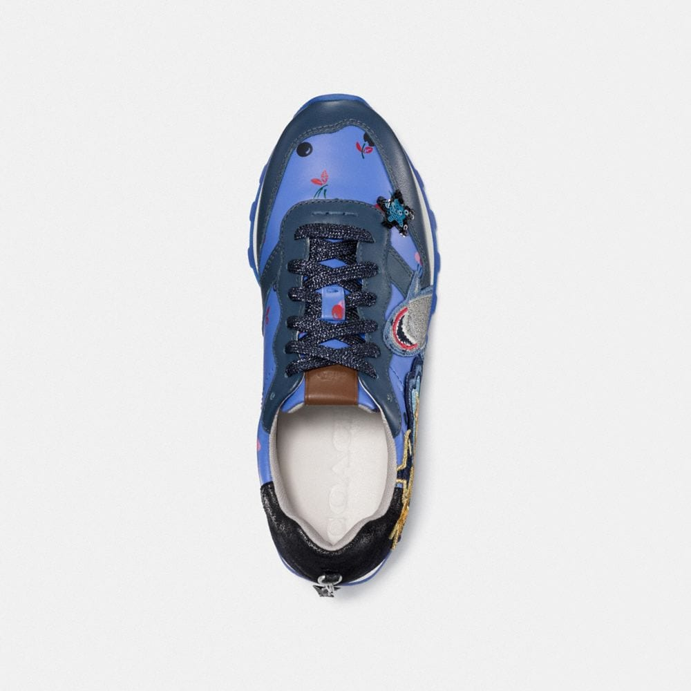 Coach C125 Runner With Sharky Patches Alternate View 2