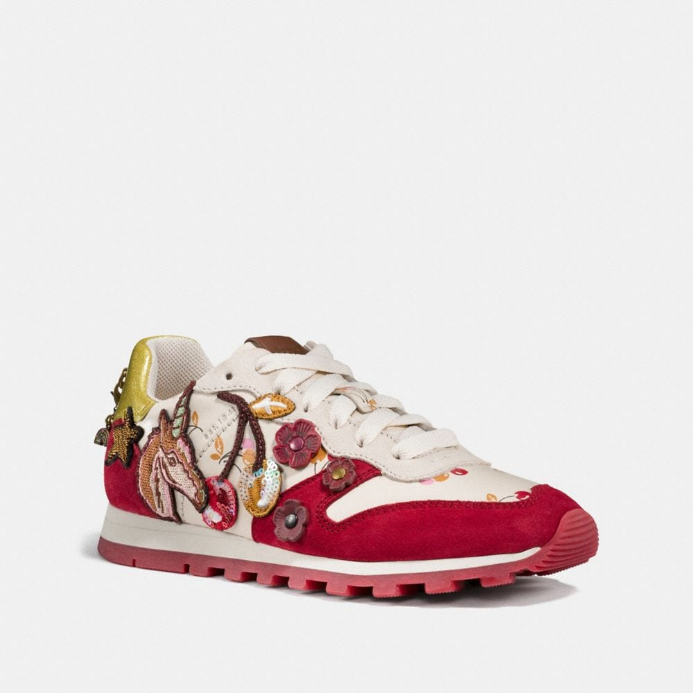 Coach C125 Runner With Uni Patches