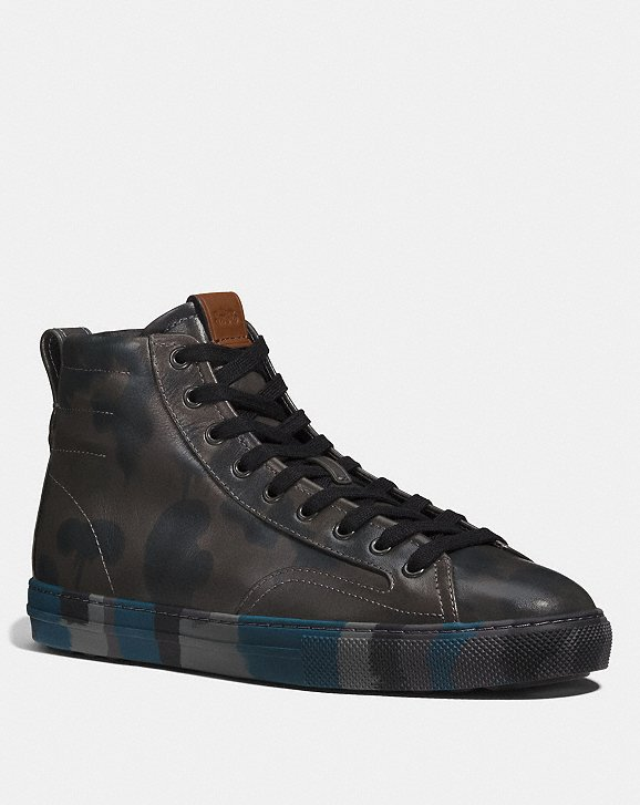 Coach Western Wild Beast C227 High Top Coach ZiJVnDJUs
