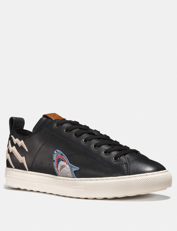 Coach C121 With Sharky Patch Black