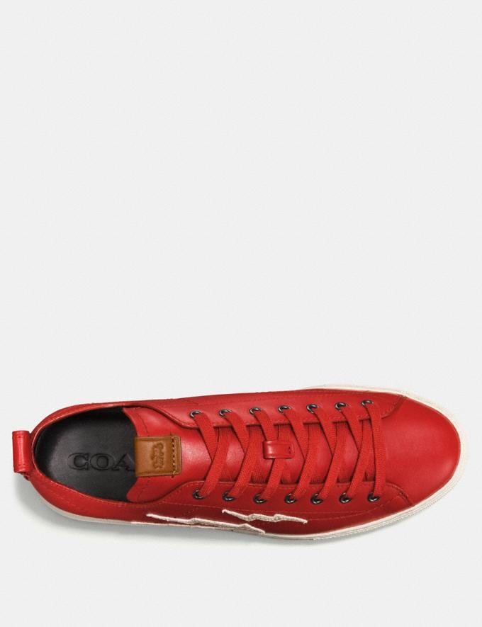 Coach C121 With Lightning Patch Red  Alternate View 2