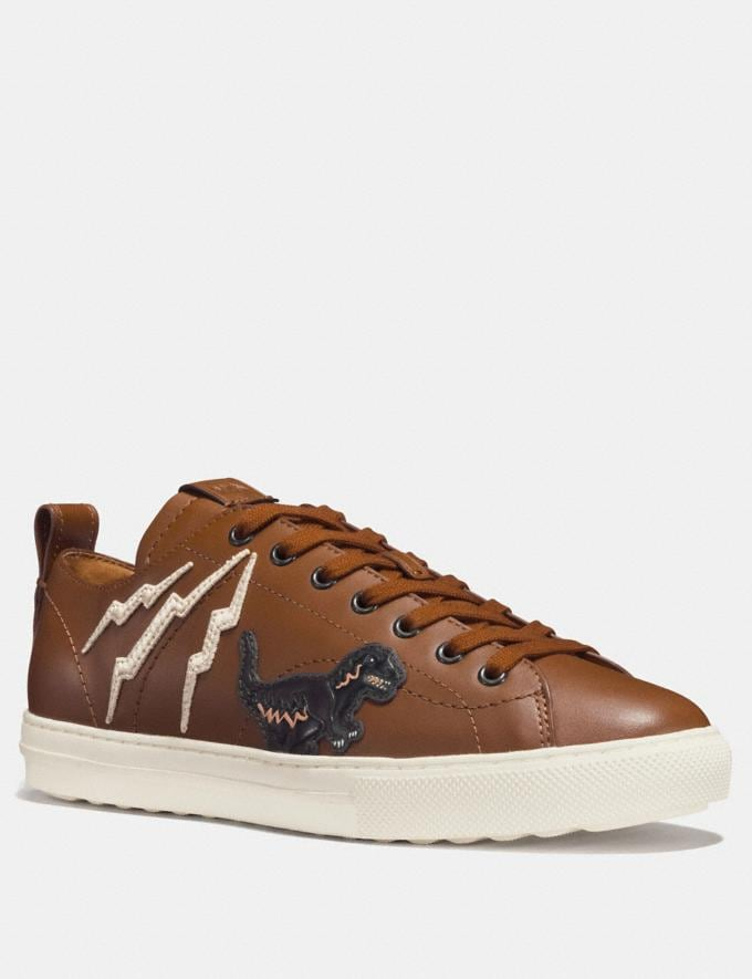 Coach C121 With Rexy Dark Saddle Men Shoes Trainers