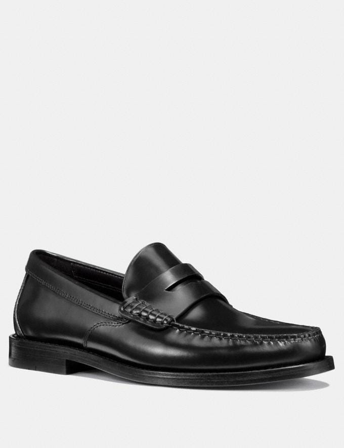 Coach Manhattan Loafer Black