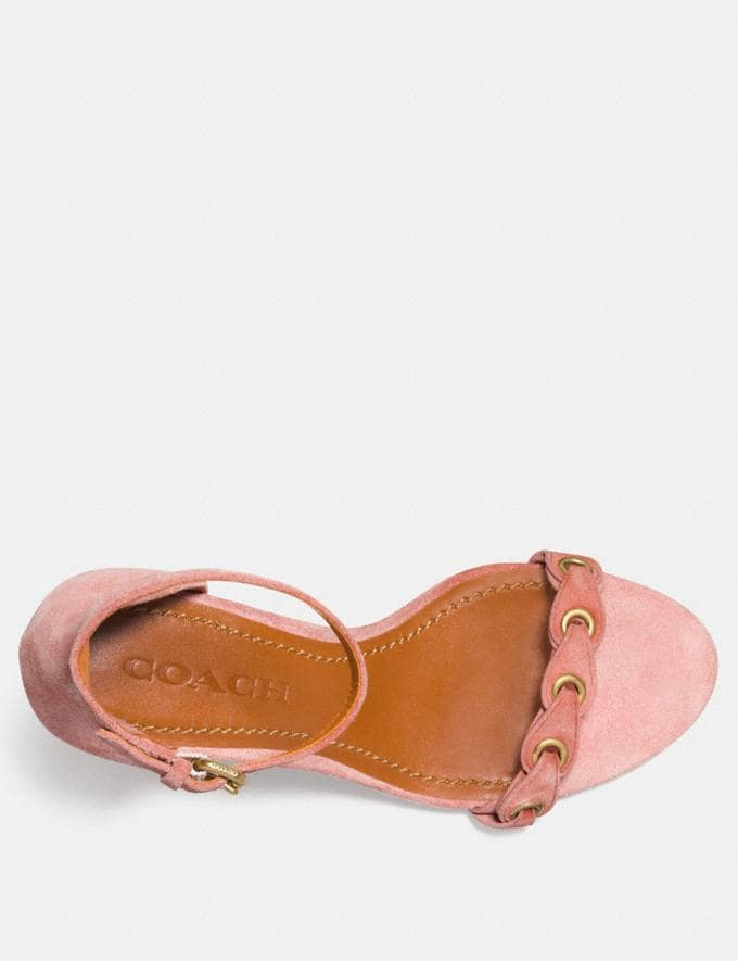 Coach Heel Sandal With Coach Link Peony  Alternate View 2