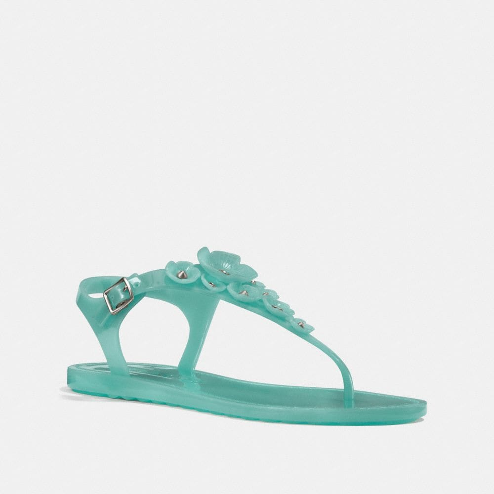 TEA ROSE JELLY SANDALS