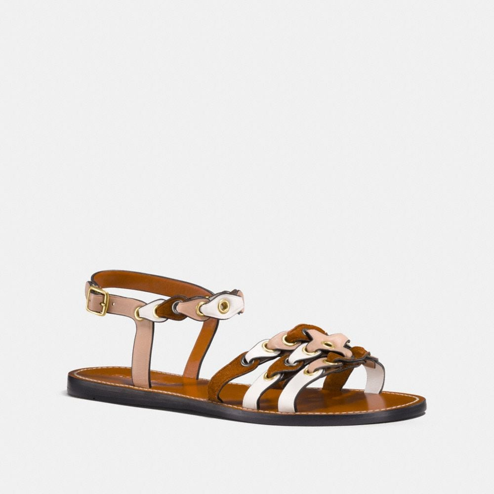 Coach 1941 Woven Leather Sandals