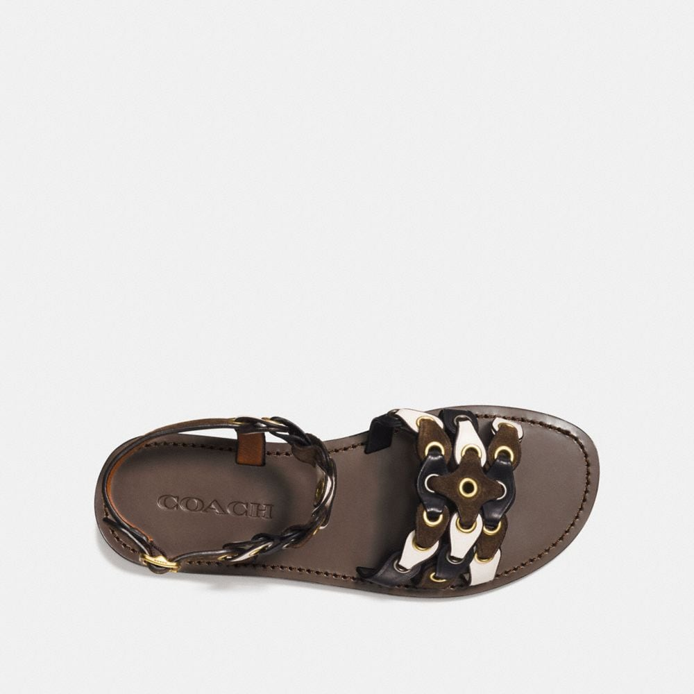 Coach Sandal With Coach Link Alternate View 2