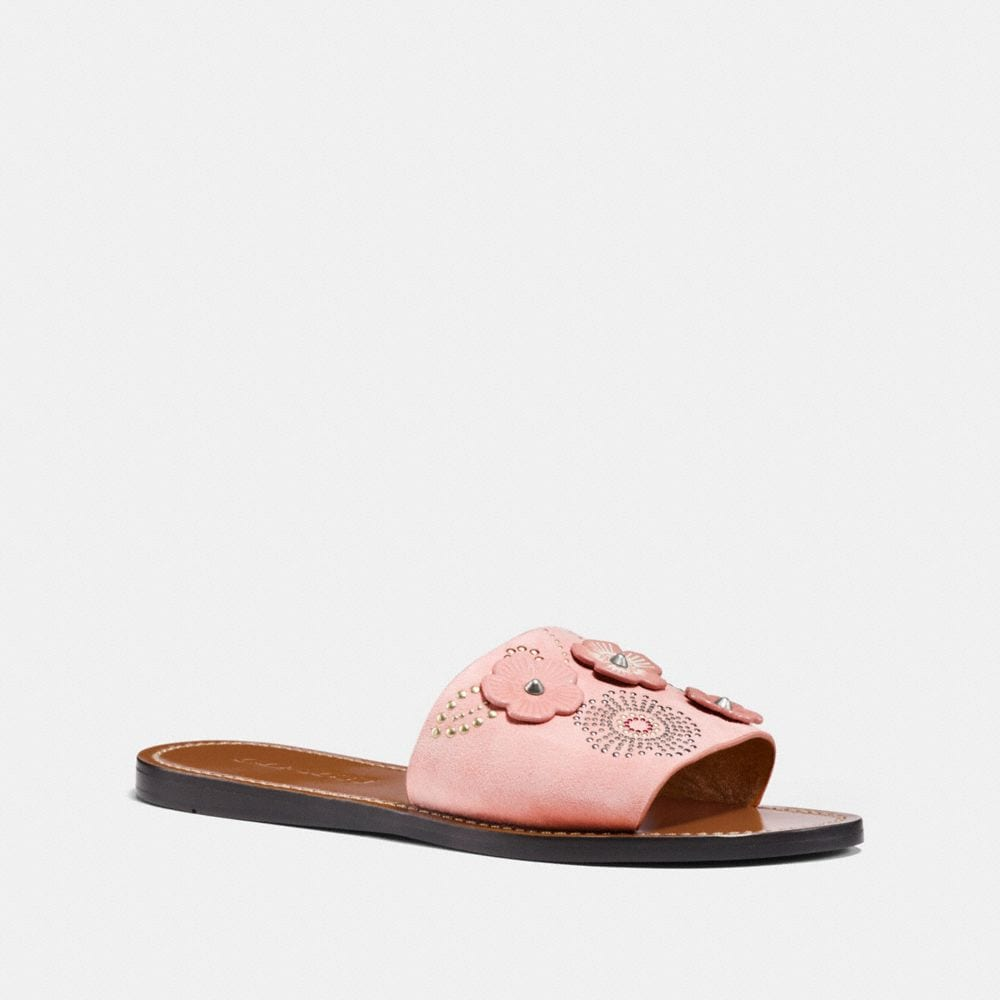 Coach Slide With Tea Rose Rivets