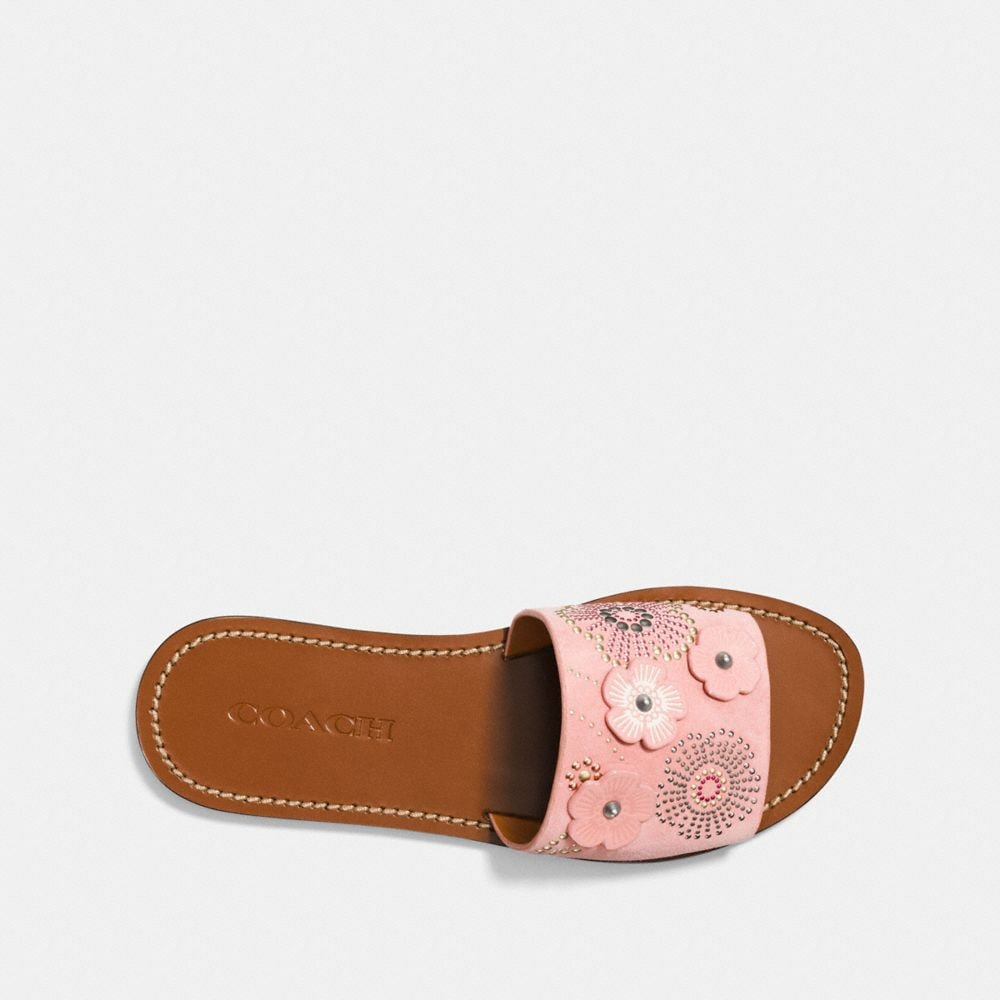 Coach Slide With Tea Rose Rivets Alternate View 2
