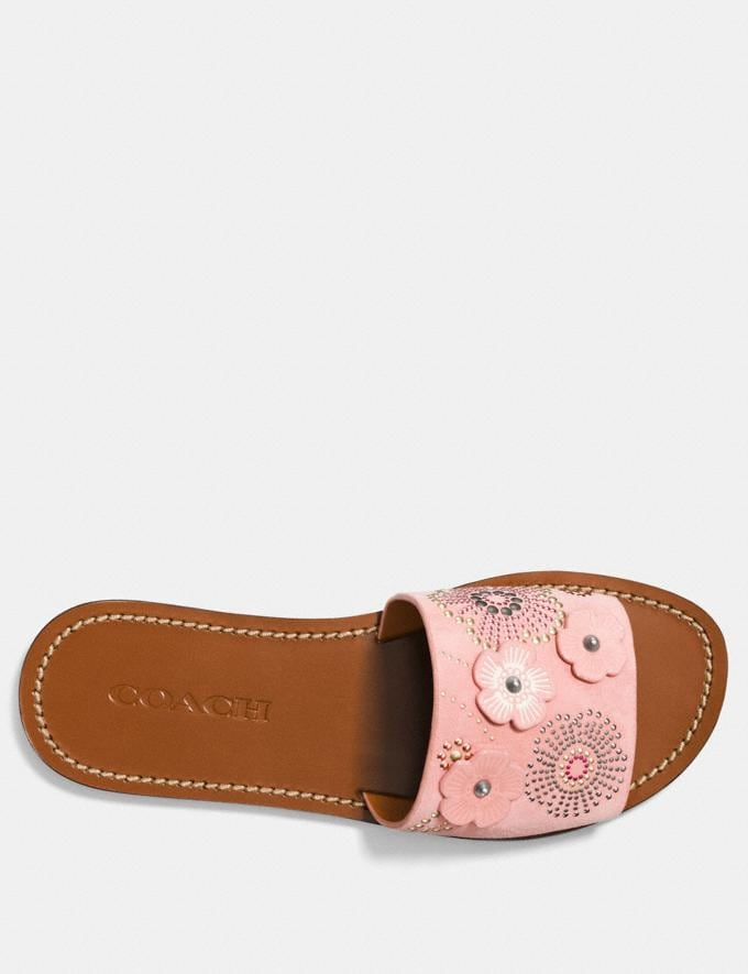 Coach Slide With Tea Rose Rivets Peony  Alternate View 2