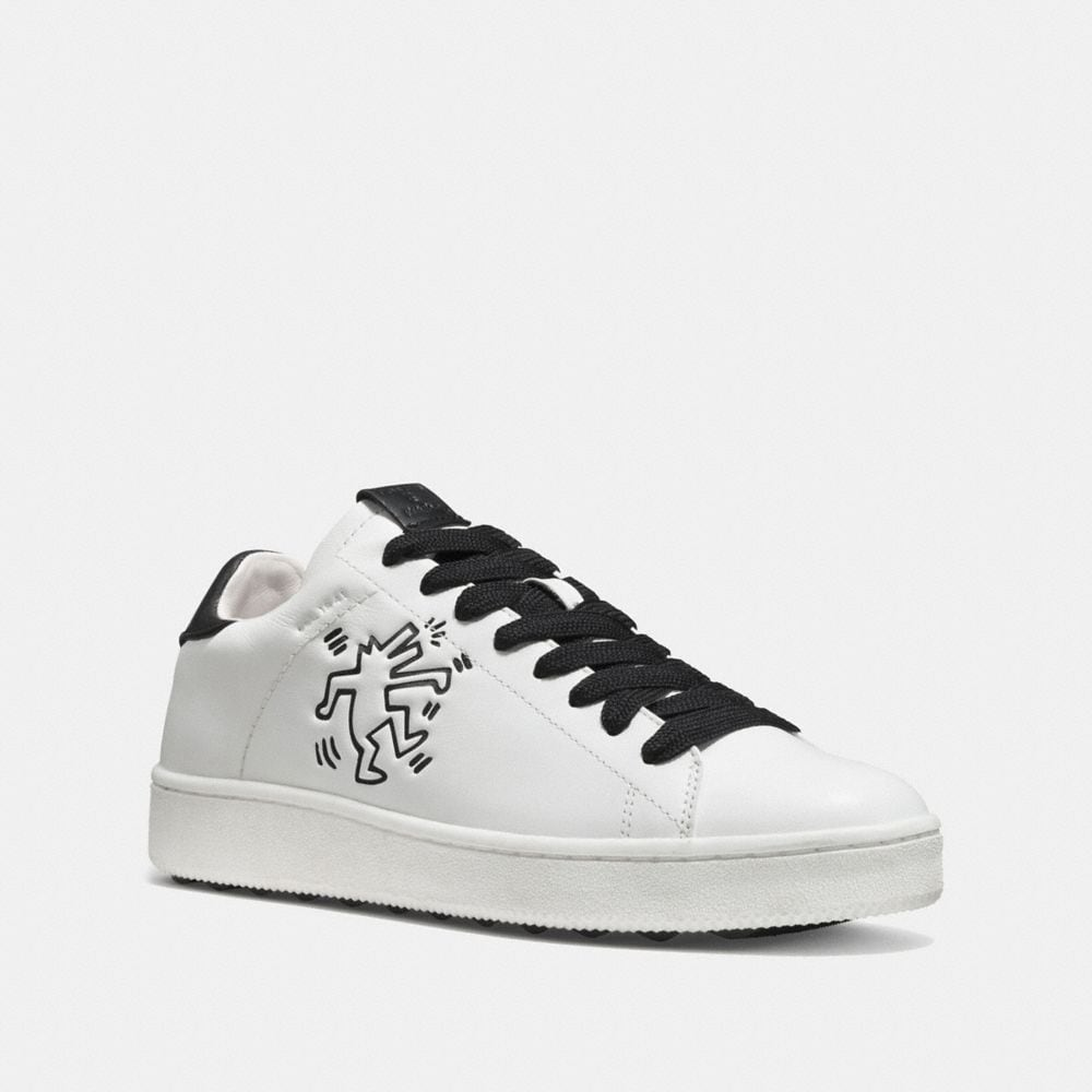 COACH X KEITH HARING C101 LOW TOP SNEAKER