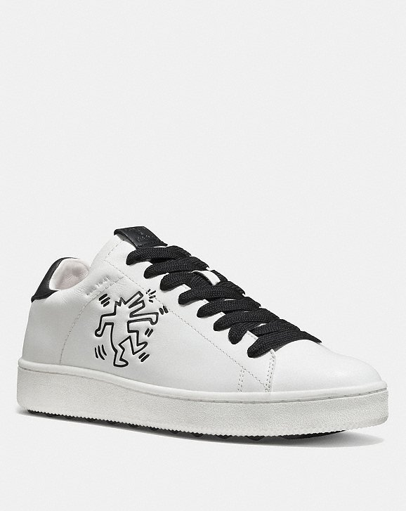 Clearance The Cheapest Cheap 2018 Coach X Keith Haring C101 Low Top Sneaker Coach With Paypal For Sale 9fU3BmVuQ
