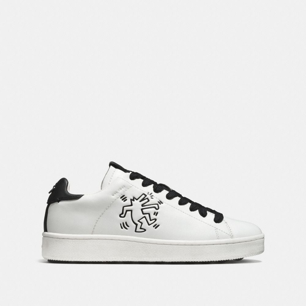 Coach Coach X Keith Haring C101 Low Top Sneaker Alternate View 1