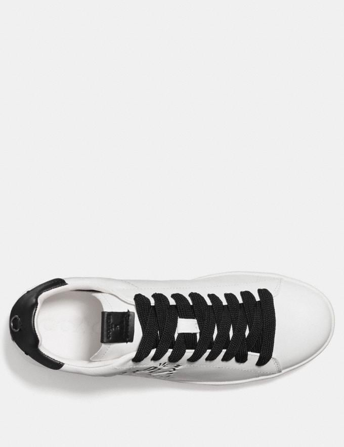 Coach Coach X Keith Haring C101 Low Top Sneaker White/Black CYBER MONDAY SALE Men's Sale Shoes Alternate View 2