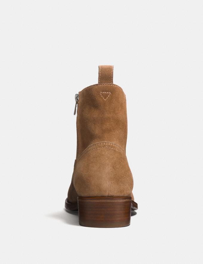 Coach Western Boot Camel Men Shoes Boots Alternate View 2
