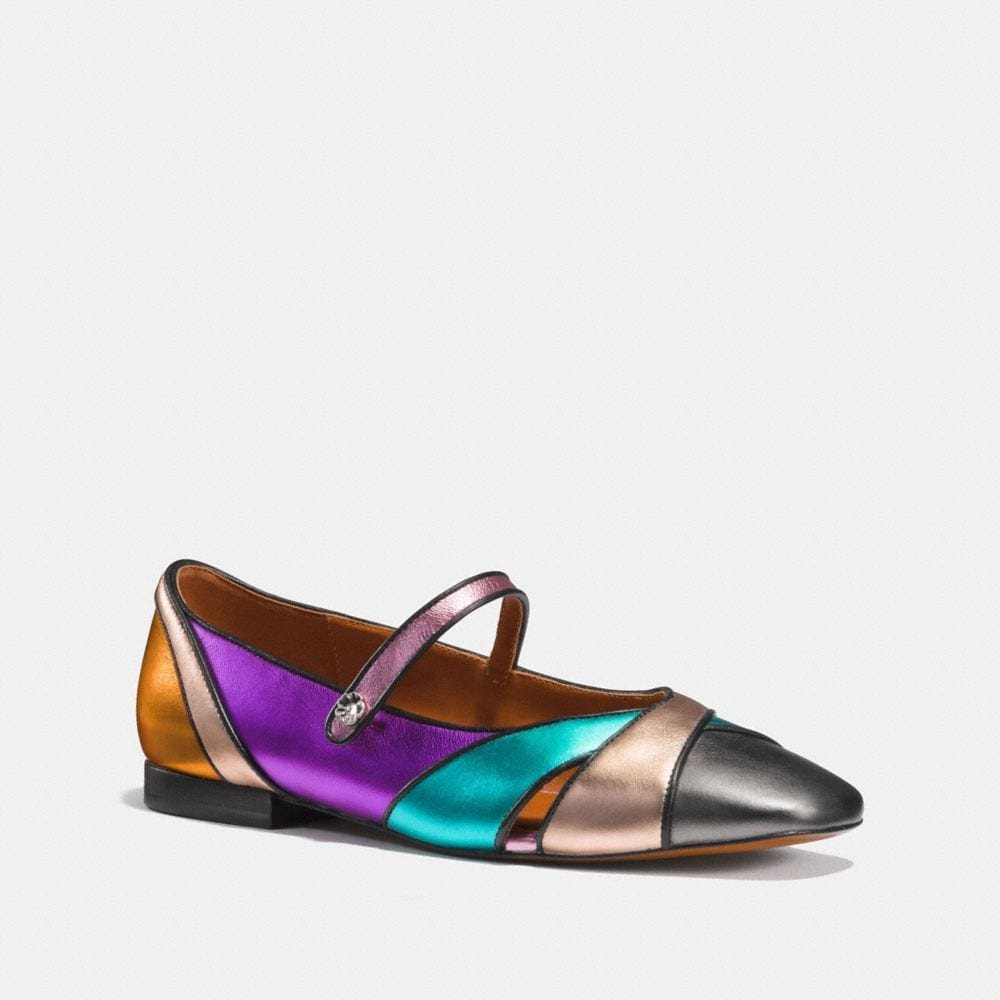 Coach Mary Jane Flat