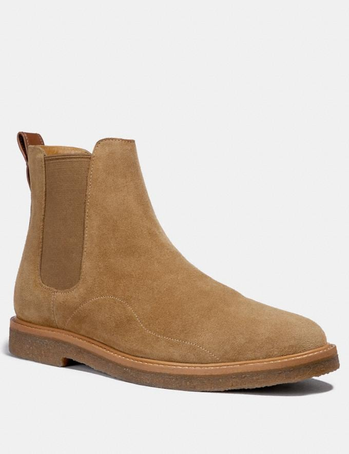 Coach Chelsea Boot Brown