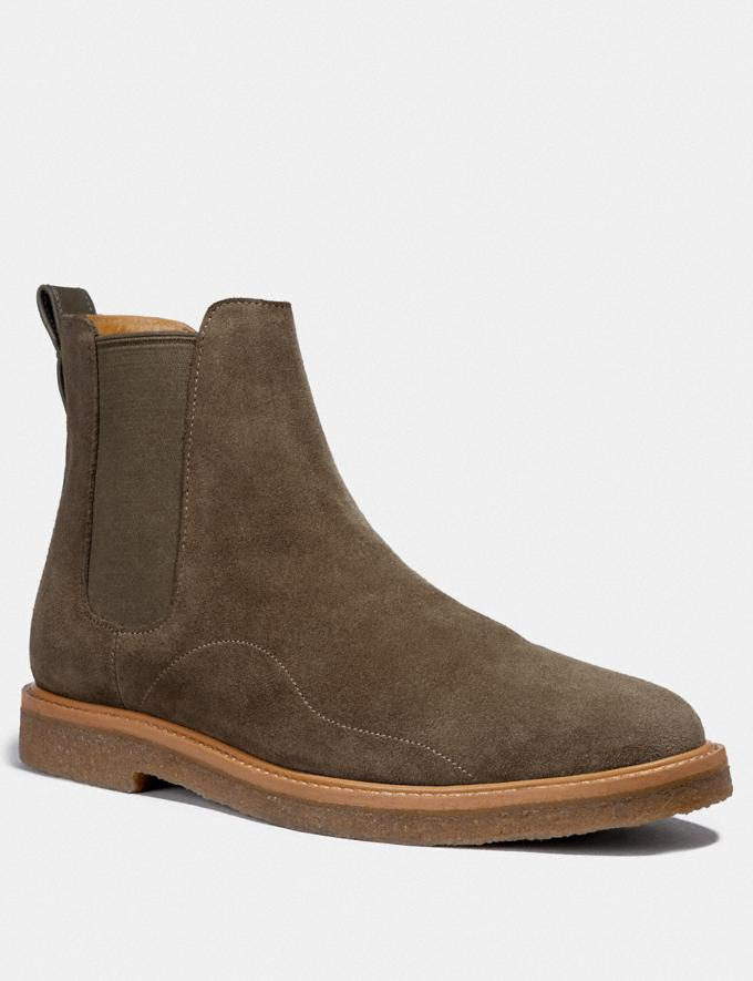 Coach Chelsea Boot Olive