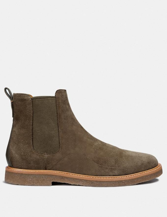 Coach Chelsea Boot Olive  Alternate View 1