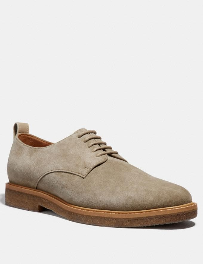 Coach Derby Oat Brown Men Shoes Casual