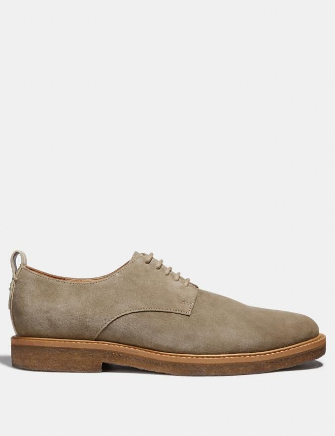 Coach Derby Oat Brown Men Shoes Casual Alternate View 1