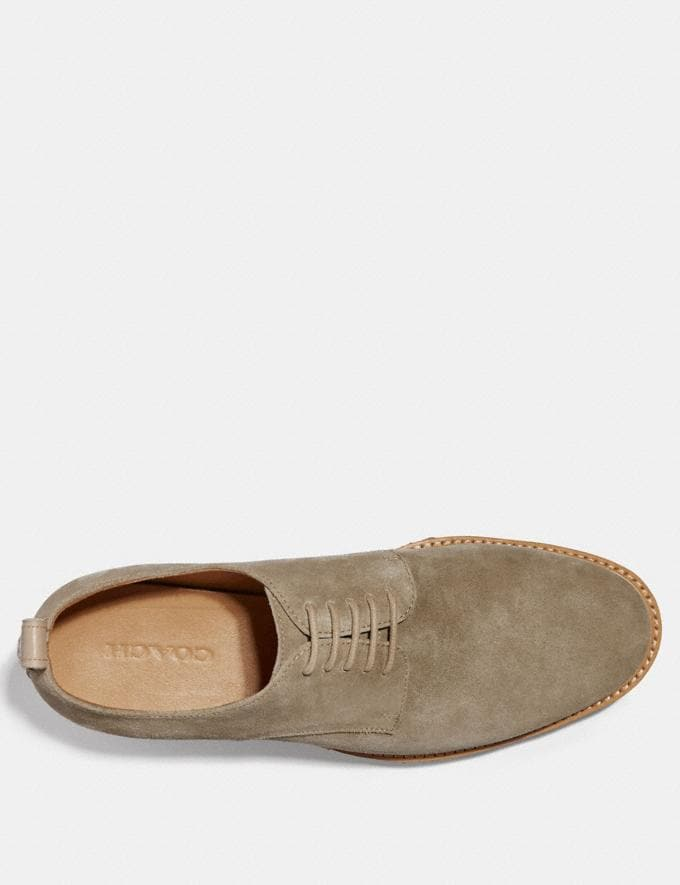 Coach Derby Oat Brown Men Shoes Casual Alternate View 2