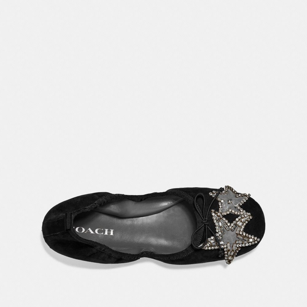 Coach Margot Ballet With Crystal Star Patch Alternate View 2